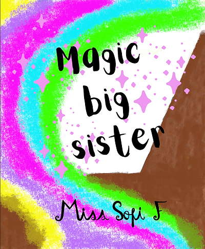 [Original size] magic big sister book en