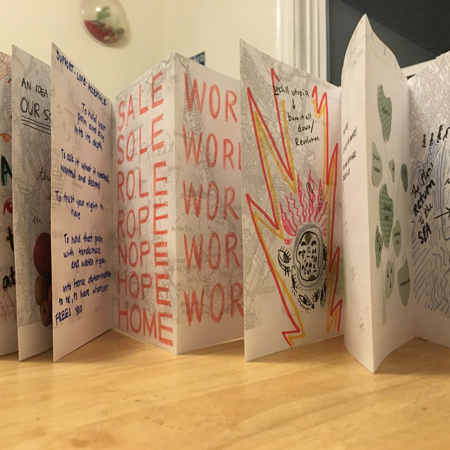 Collaborative Book-Making + Radical Imagination Workshop