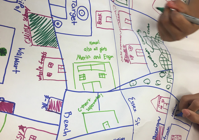 Future Chinatown Map Making Workshop