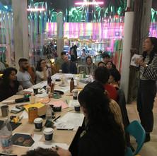 Collaborative Book-Making + Radical Imagination Workshop at Spaceus