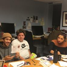 Workshop at Zumix's Teen Council