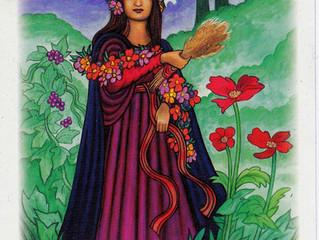 Quem é  a deusa  da agricultura, representação genealógica da mãe terra!?