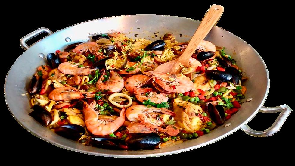 Deliciosa Paella TÍO MUNDO