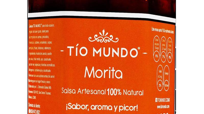 Salsa Morita con ajo y cacahuate (9 Oz) Combina con todo