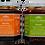 Thumbnail: Kit de cuatro salsas (chipotle, morita, árbol y habanero) 9 Oz