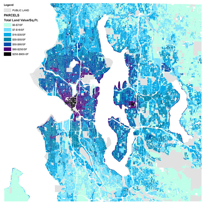 Seattle's Rising Geographical Inequality