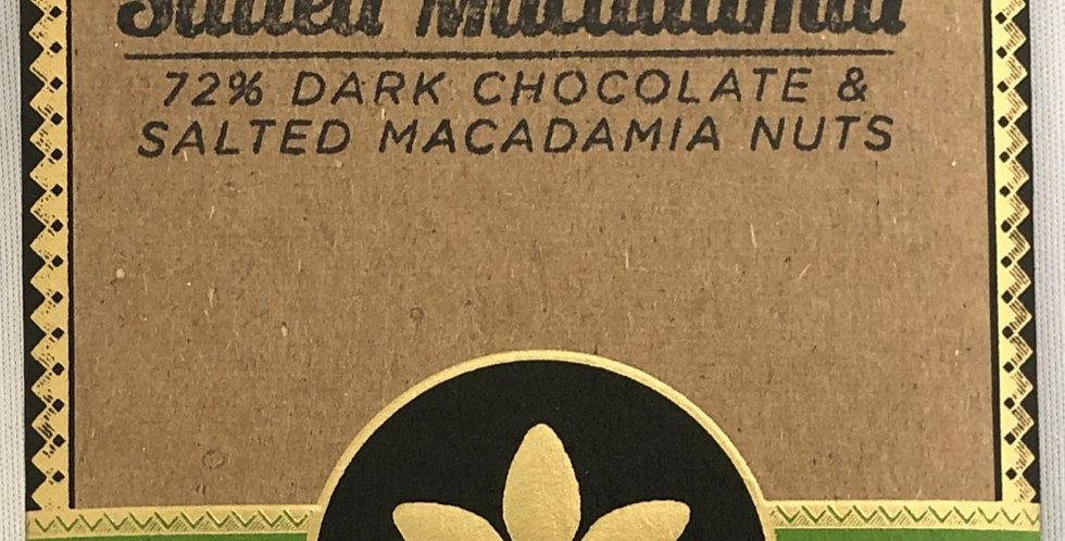 マノアチョコレート ソルトマカダミア 72%カカオ