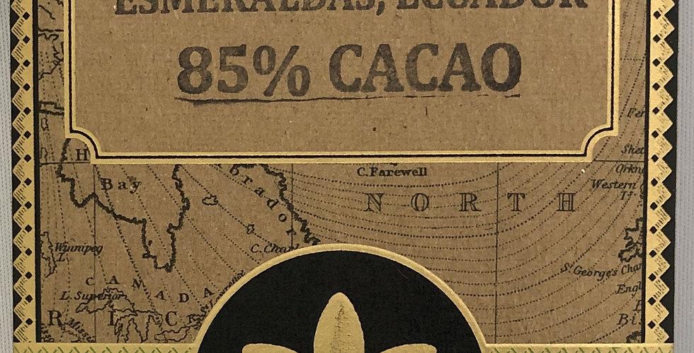 マノアチョコレート 85%カカオ エクアドル