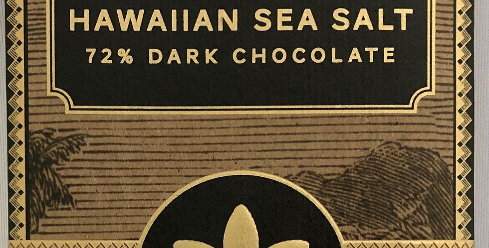 マノアチョコレート 72% ハワイアンシーソルト