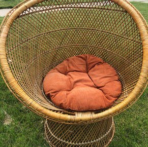 Boho Vibes Chair (rental only) $60