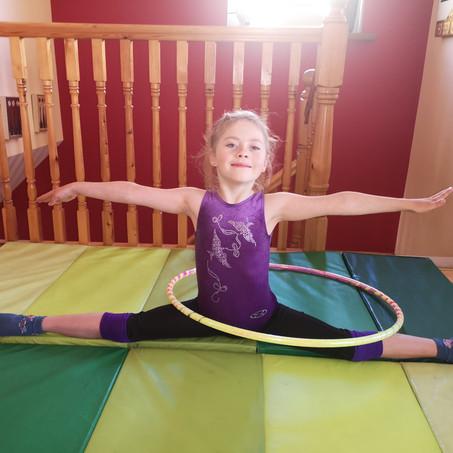 Irina Viner's online international rhythmic gymnastics competition