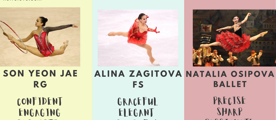same old song and (different) dance: rhythmic gymnastics, figure skating and ballet artistry edition