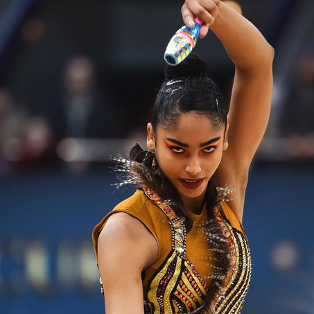 BLACK WOMEN ATHLETES THAT SUCCEEDED AGAINST ADVERSITY IN  RHYTHMIC/ ARTISTIC GYMNASTICS AND BALLET