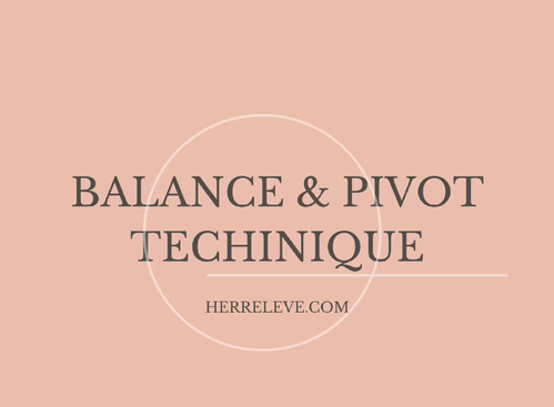 Balance technique for the perfect skills
