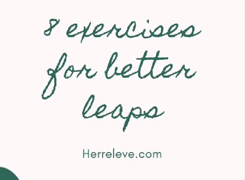 8 exercises for better leaps