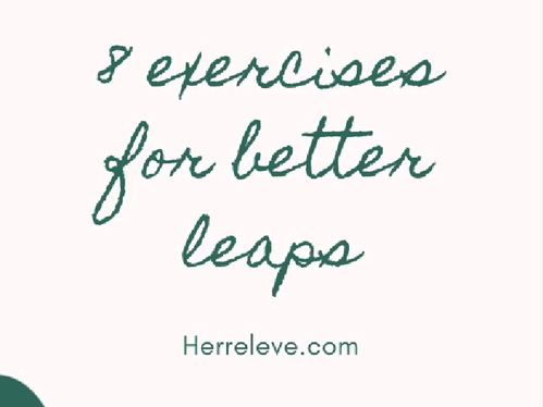 8 exercises for better leaps