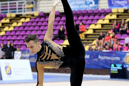"the ""Billy elliot"" of rhythmic gymnastics, ruben orihuela"