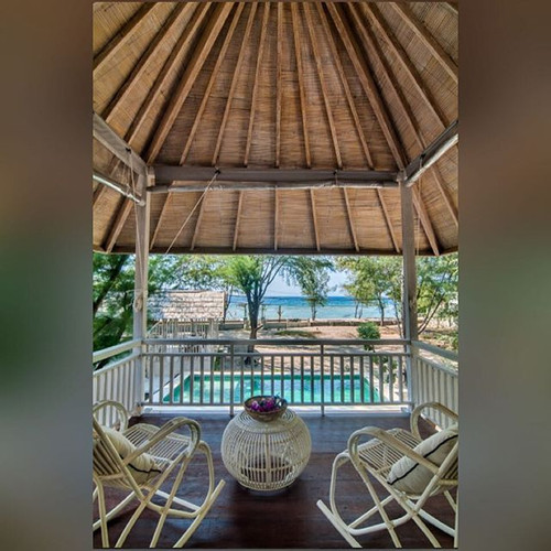 Gorgeous view from the villa's terrace �