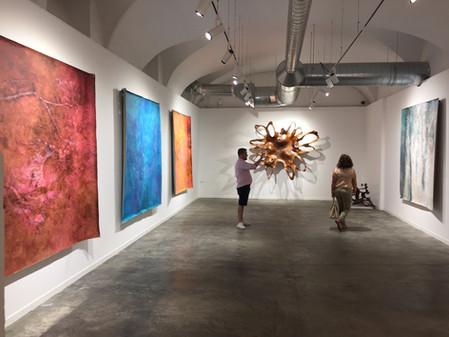 Showing in the new Villa del Arte Gallery in Barcelona, Spain, fall 2018