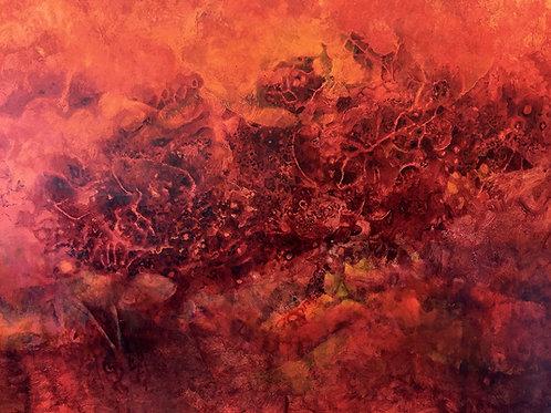 """Caverna Vermella IV (56"""" x 75"""")"""