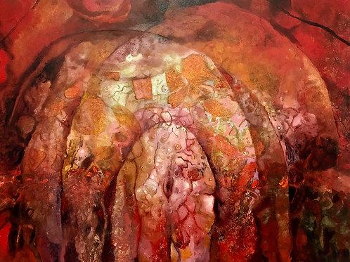 """Caverna Vermella I (36"""" x 48"""")"""