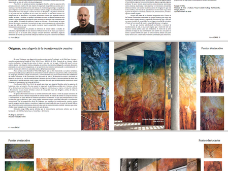 Publication of the murals of EMAI in Costa Rica.
