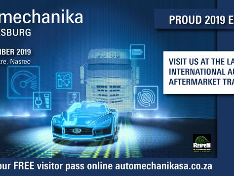OILY SA will be exhibiting at Automechanika 2019 – Johannesburg