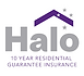 Halo 10 years residential guarantee logo