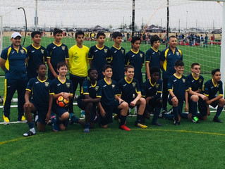 Galaxy 03B Team Kicks off the Spring with a Win