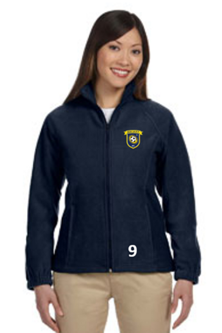 Full-Zip Fleece Jacket with Pockets
