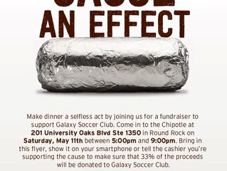 Galaxy Spirit Night At Chipotle