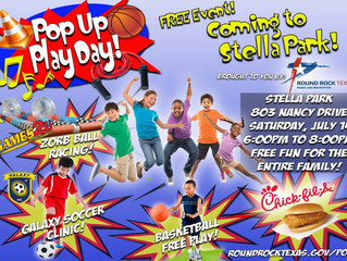 Pop-Up Play Day This Saturday