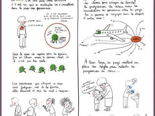 Le coronavirus expliqué aux enfants