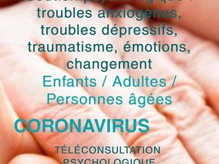 Soutien psychologique via téléconsultation - une adaptation à la crise sanitaire