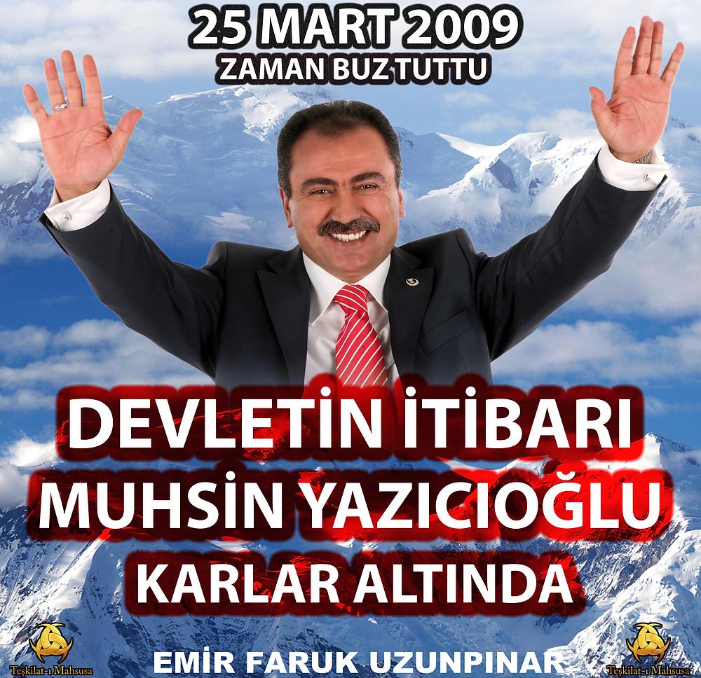 25 mart 2009 muhsin yazıcıoğlu