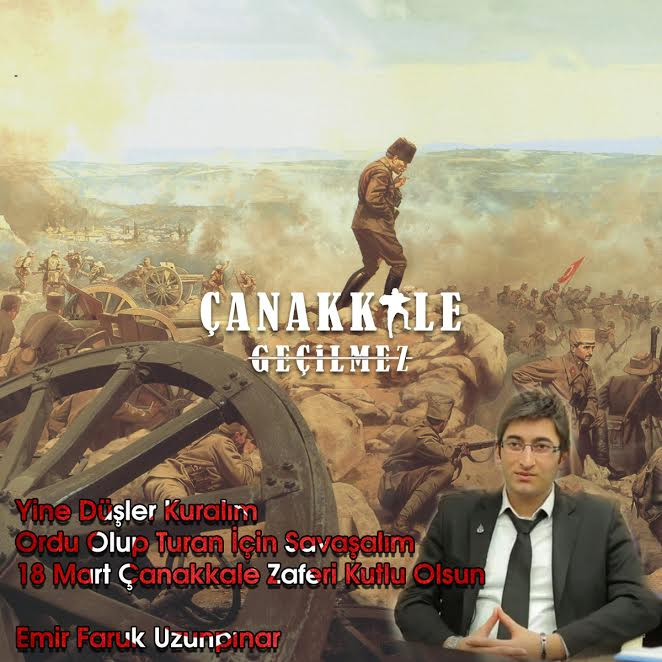 18 Mart 1915 Çanakkale Zaferi Emir Faruk Uzunpınar
