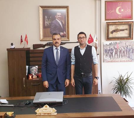 Genel Başkanımız Sn.Murat Aslan Şirketimizi ziyaret etmiştir