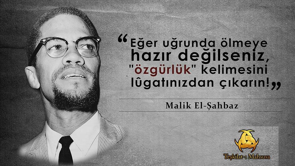 Malik El-Şahbaz - Malkomx