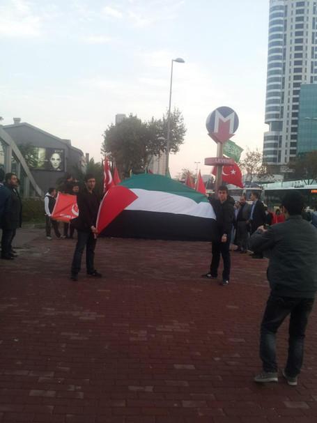 Alperen Ocakları Olarak Filistine Yapılan Zulme Sessiz Kalmadık