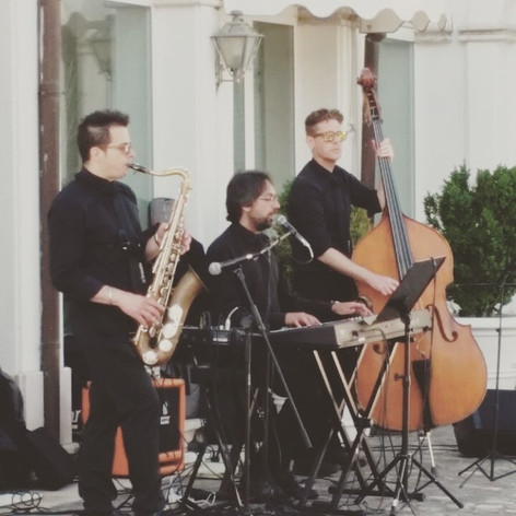 Trio in action #music