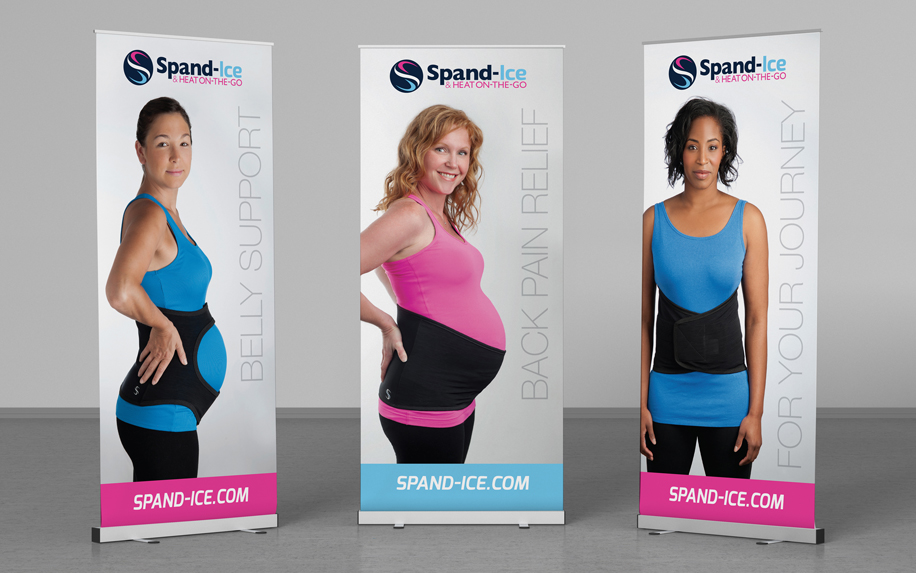 SPAND-ICE BANNERS