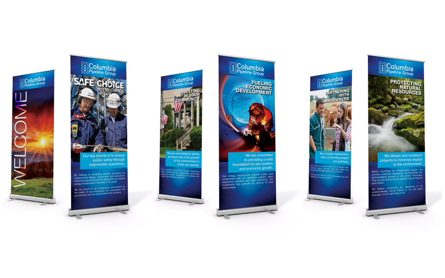 CPG RETRACTABLE BANNERS