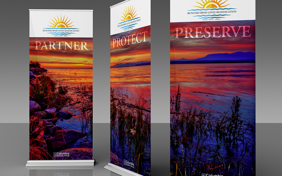 BUNCHES BEND BANNERS
