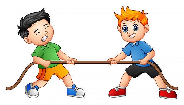 enfants-mignons-jouant-tir-corde_43633-2