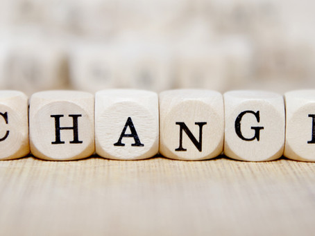 The Art & Science of Making Changes