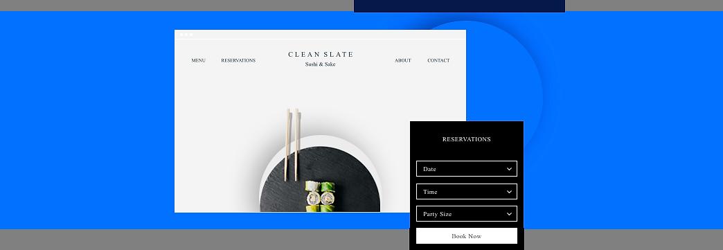 Clean Slate isimli suşi resotranı