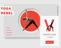 Bookings Website for a Yoga Studio