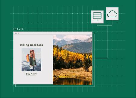 Un sito web Wix con hosting