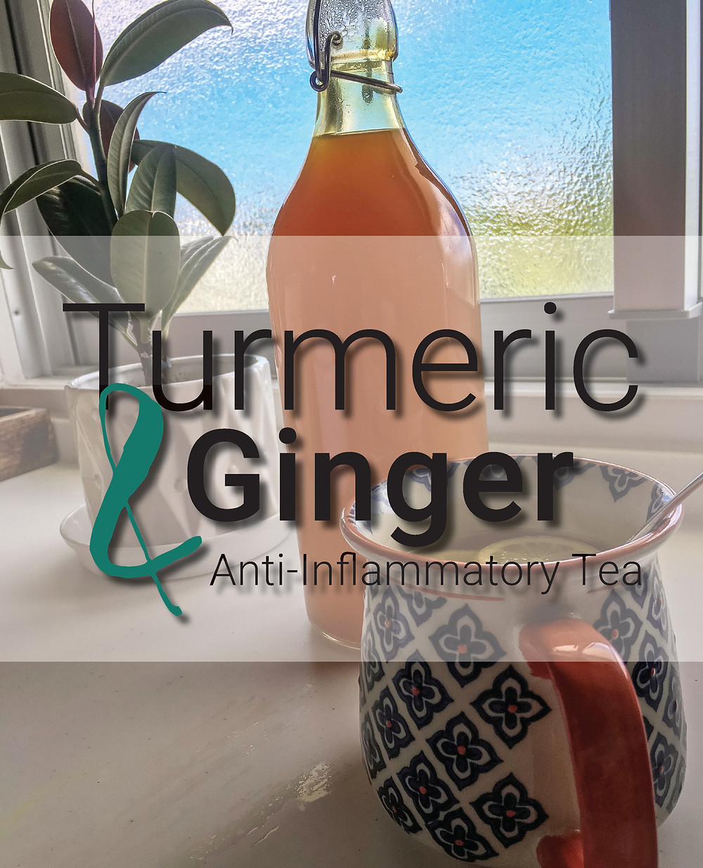 Turmeric and ginger anti-inflammatory tea