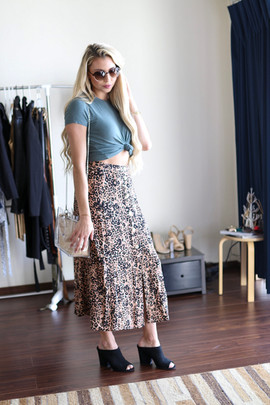 Floral Skirt Styling